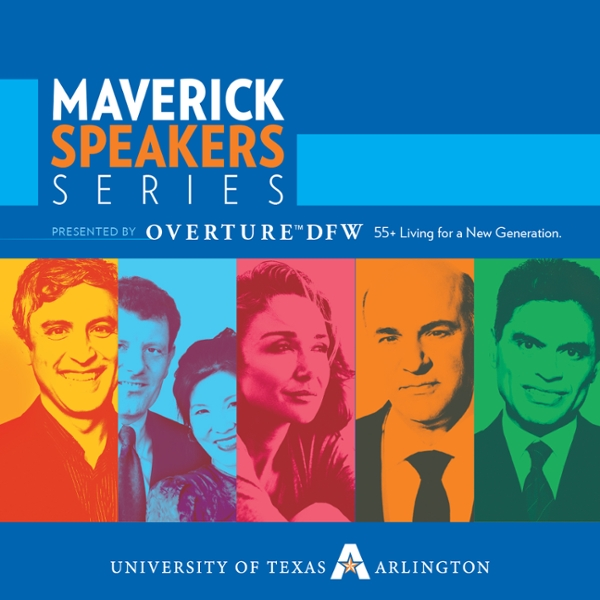 2016-17 Maverick Speakers Series Season Tickets presented by Overture DFW