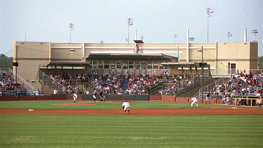 Clay Gould Ballpark and Allan Saxe Field